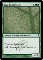 MtG Cards - Boar Constrictor by E-n-S