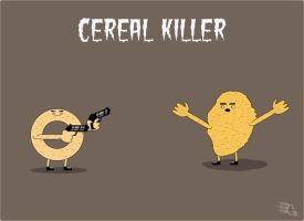 cereal killer by GabeRios