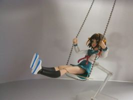Haruhi on a Swing - Two by dm29