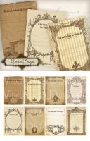 Printable Bookplates ATC by VectoriaDesigns