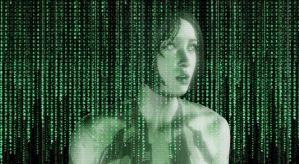 Cortana caught in the matrix by joe-cavalry