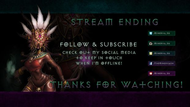 Minerva DH: Stream End by Holyknight3000