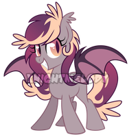 Dusk Batpony Auction: closed by XNightMelody
