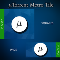 uTorrent Tile for OblyTile by Schamil