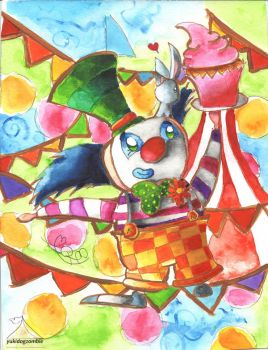 Chesterfield The Clown by yukidogzombie