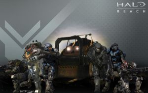 Halo Reach Forklift by redrum201