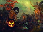 Alone For Halloween by Lolita-Artz