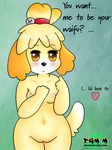 Isabelle - My waifu :3 by Pgm-M