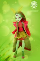 OOAK Custom Monster High Venus McFlytrap by Diuha