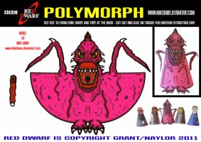 Red Dwarf - Polymorph by mikedaws