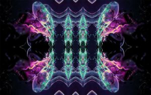 Wallpaper Abstract Butterfly  By Luna Fantasma by Luna-Fantasma