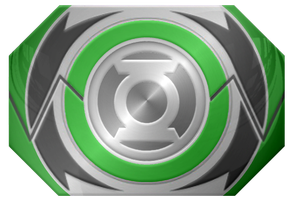 MMPR Morpher Green Lantern Idea by KalEl7