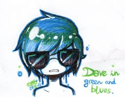 Dave in geen and blues. by Tokkori