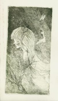 Dryad on Engraving by Cuordiluna