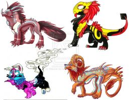 Collab Adopts  Open by lonespirits