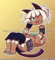 Ms. Fortune Sticker by NekoCrispy