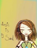 Music is my soul by Number-14