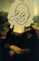 Mona Lisa Mr. Bean by WilliamGuy