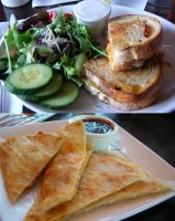 Grilled Cheese and Quesadillas by rcmacdonald