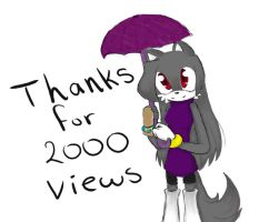 Thanks for 2000 views :3 by sesi13