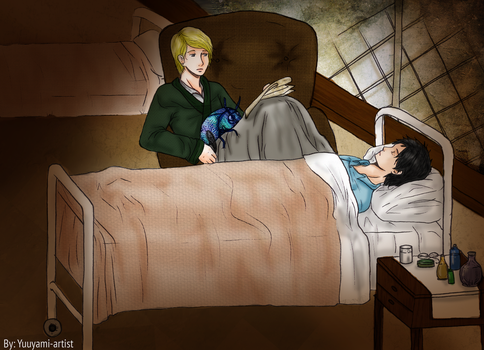 Drarry - All Life is Yours to Miss (Night Visit) by yuuyami-artist