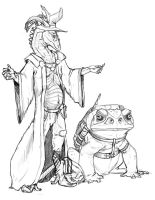 Mortimer and companion? by Teggy