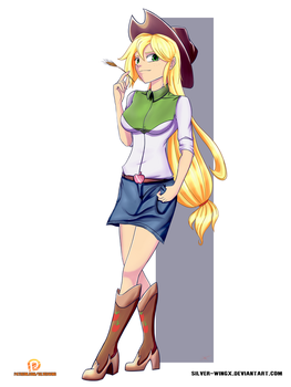 EqG - Applejack by SD-HexWing
