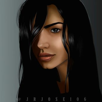 DArk Hair by jrjose106