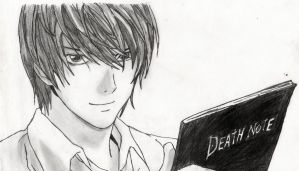 Light Yagami by prabhatjanamanchi