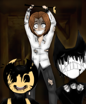 Henry's Madness [Bendy and the Ink Machine] by GalaxyJewel