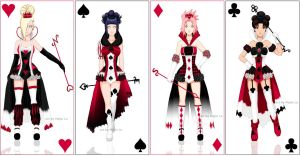 Queen of Cards by MajinLu