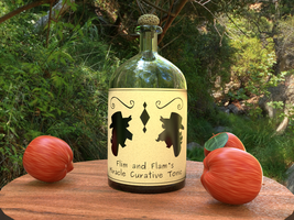 Flim and Flam's miracle Curative Tonic! by Morichalion