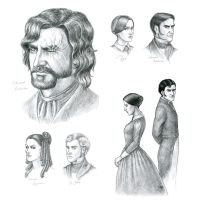 Jane Eyre Sketch by Anastina91