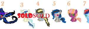 Even More Adoptables by wolflover4life008