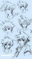 sketch - Sora by BonBonPich