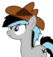 I finally got my own hat. by cottoncloudyfilly