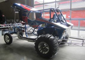 46 Willys body shell on sand drag jeep by zypherion