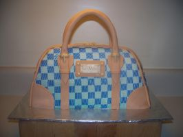 Hand Bag Cake by sybillrose
