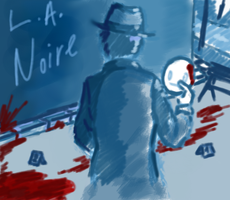 Cry Plays: L.A. Noire (I wish) by henkerrr