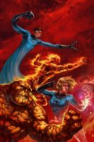 Fantastic Four by jbcasacop
