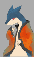 Typhlosion Doodle Colored by Vestaw