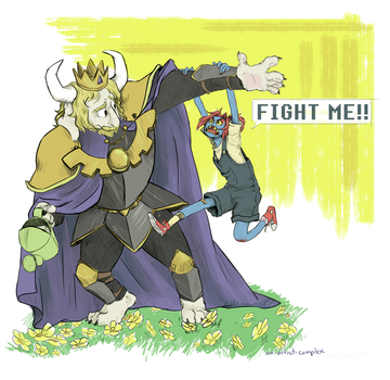 FIGHT ME by an-artist-complex