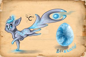 Blizzard Hatchling by TechnoBird