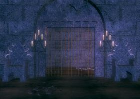 The Dungeon Background by Lil-Mz