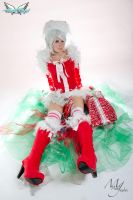 Christmas cosplay by MiciaGlo