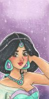 Bookmark Fantasia Jasmine by chelleface90