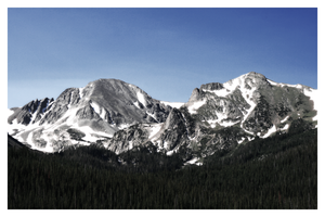 Colorado Mountains by Jamaal10