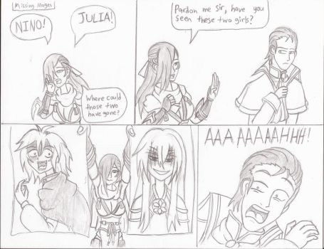 [FEH 4Koma] #34: Missing Mages by Willanator93