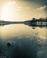 Kleberg Lake Daytime Long Exposure by JaredWingate
