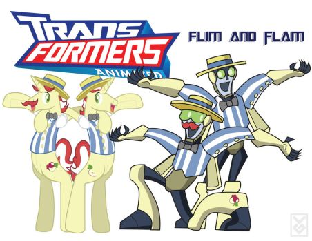 Transformares Flim and Flam by Inspectornills